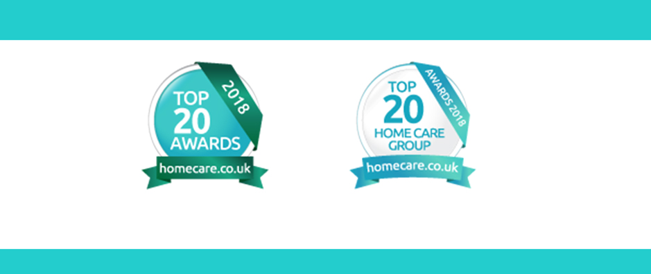 Top 20 carer award