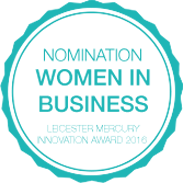 Pure Homecare - Women in Business Award - Nomination badge image