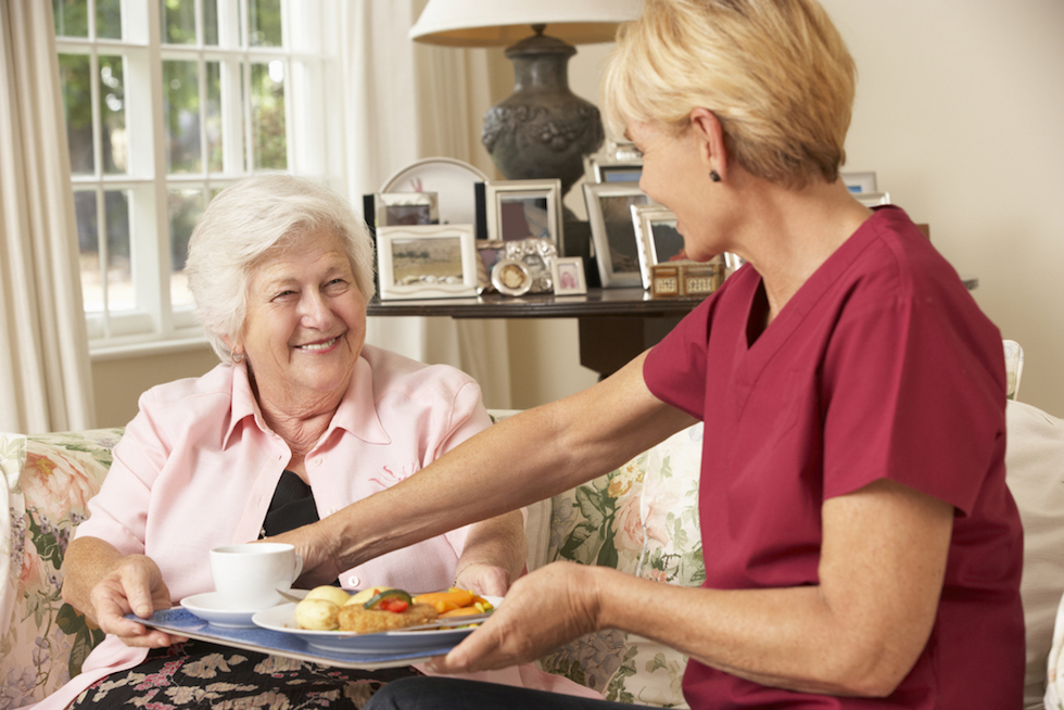 homecare vs carehomes